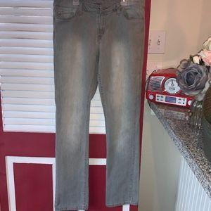 Levi's Light Gray 552 Jeans EUC